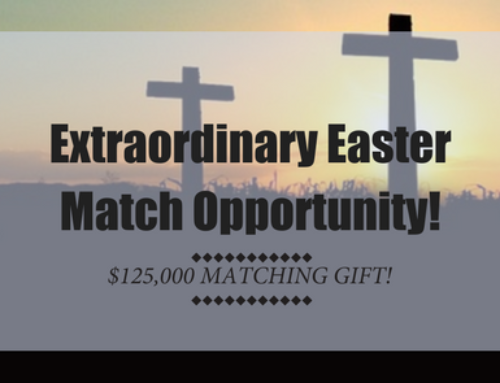 Extraordinary Easter Match Opportunity