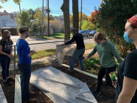 Care for Creation St. Kateri Vegetable Garden