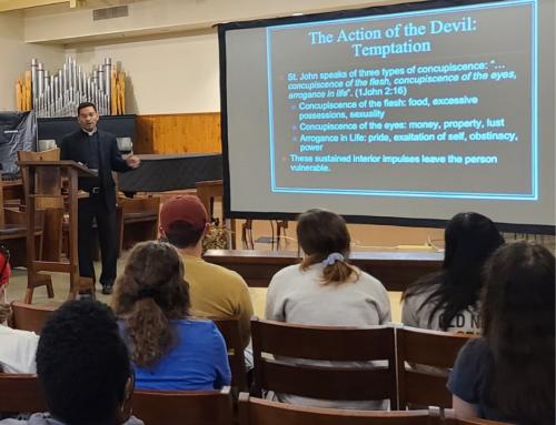 Father Earl Fernandes on Exorcism
